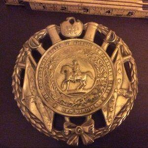 VA Metalcrafters Accents - Brass CSA Trivet